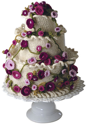 Wedding Knit and Crochet – Wedding Cakes – free patterns ...