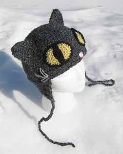 Crochet Pattern Hat Cat : Cats on Hats ? free patterns ? Grandmothers Pattern Book