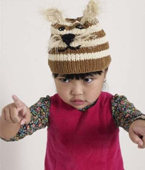 Knitting Pattern For Kitty Hat : Cats on Hats   free patterns   Grandmothers Pattern Book