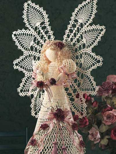 Christmas In July Lovely Crochet Angels 14 Free Patterns
