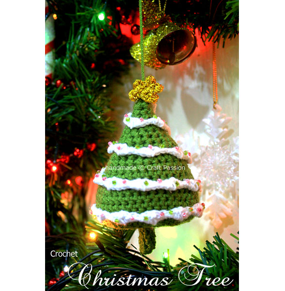 Free Crochet Patterns For Xmas Trees : Christmas in July - Crochet a Christmas Tree - free patterns ...
