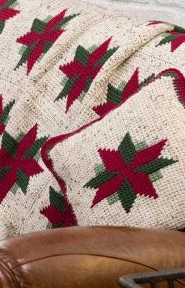 Christmas Afghan Knitting Patterns : Christmas in July   Crochet a Christmas Afghan   free patterns   Grandmother&...