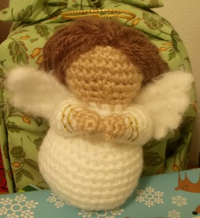 Amigurumi Angel Free : Christmas in July Knit and Crochet Nativity Sets free ...