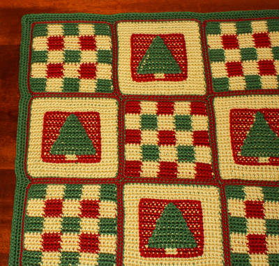 Free Online Christmas Crochet Afghan Patterns : free crochet afghan patterns