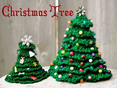 Christmas in July – Crochet a Christmas Tree – free patterns