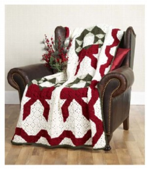 Christmas in July ? Crochet a Christmas Afghan ? free ...