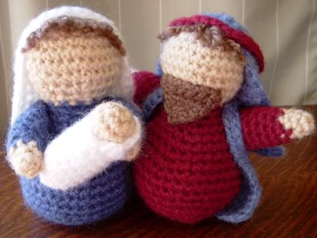 Baby Octopus Amigurumi Pattern : Christmas in July Knit and Crochet Nativity Sets free ...
