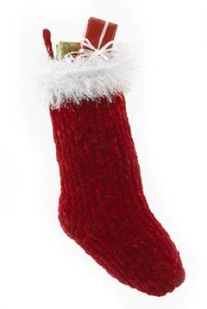 Christmas in July   Elegant Christmas Stockings to Knit   free patterns   Gra...