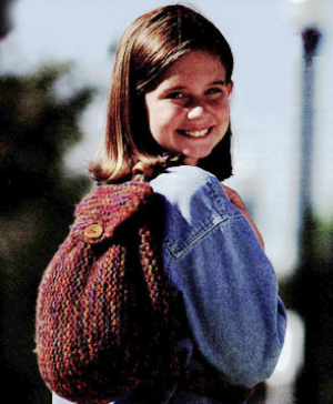 Backpack Knitting Pattern : Get Ready for School   Knit and Crochet Backpacks   free patterns   Grandmoth...