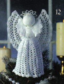 Crochet Patterns Free Angel : Christmas in July ? Lovely Crochet Angels ? 14 free ...