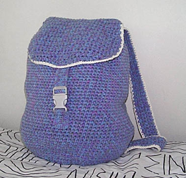 ... and Crochet Backpacks - free patterns - Grandmothers Pattern Book