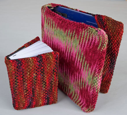 Knitting Pattern Book Cover : Back to School   Covers for Books, Binders, Notebooks   knit or crochet   fre...