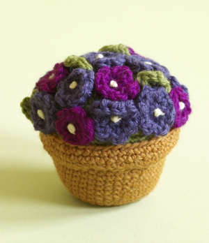 Amigurumi Flower Free Pattern : More House Plants to Knit and Crochet free patterns ...