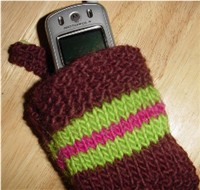 Back to School Cell Phone Cases   knit, crochet   free patterns   Grandmother...
