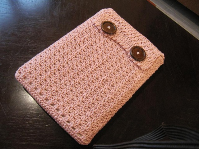 Back To School Knit Or Crochet A Sleeve For Your Notebook Kindle
