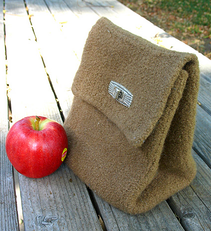 Back to School Lunch Bags to Knit and Crochet - free patterns ...