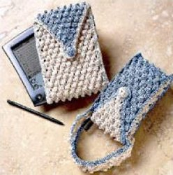 Free Crochet Pattern Mobile Phone Case : Back to School Cell Phone Cases ? knit, crochet ? free ...