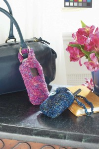 Back to School Cell Phone Cases – knit, crochet – free patterns
