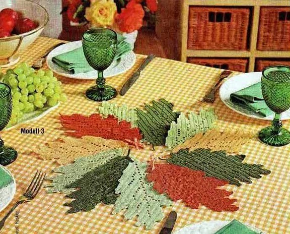 Autumn Leaves And Leaf Designs To Crochet 34 Free Patterns