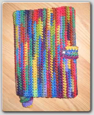 Ravelry: Easy Knit Book Cover With Butterfly Motif pattern by