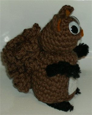 Knit and Crochet for Fall Squirrels free patterns ...
