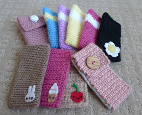 Back To School Cell Phone Cases Knit Crochet Free Patterns