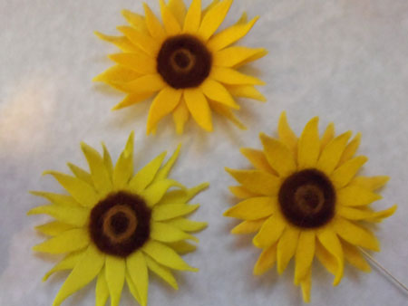 Sunflowers To Knit And Crochet Free Patterns Grandmothers