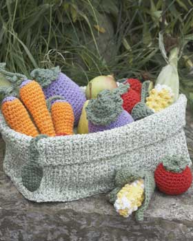 ... Crochet - Vegetables - free patterns - Grandmothers Pattern