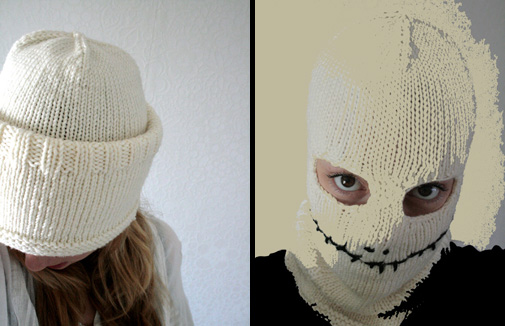 Knit Or Crochet Your Halloween Mask Free Patterns Grandmothers