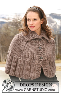 Free Knitting Pattern For Short Poncho : Knit the Prettiest Ponchos for Fall   free patterns ...