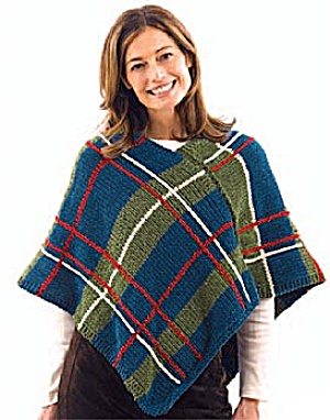 LACY KNIT SUEDE PONCHO KNITTING PATTERN ? KNITTING PATTERN