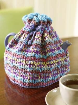 For your Autumn Kitchen   Tea Cozies to knit and crochet   free patterns   Gr...