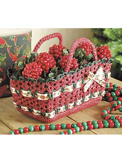 Crochet Autumn Baskets - free patterns - Grandmothers Pattern ...
