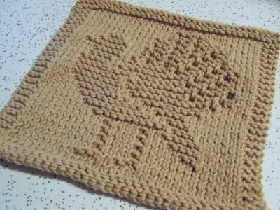 Free Knitting Pattern Turkey Dishcloth : For Your Kitchen   Autumn Dishcloths to knit and crochet   free patterns   Gr...