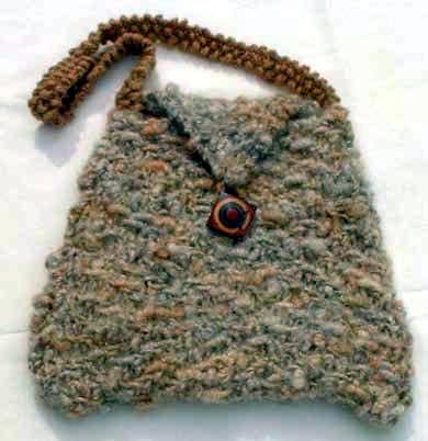 Free Knitting Patterns For Bags : Knit the Best Fall Bags and Purses   free patterns   Grandmothers Patter...