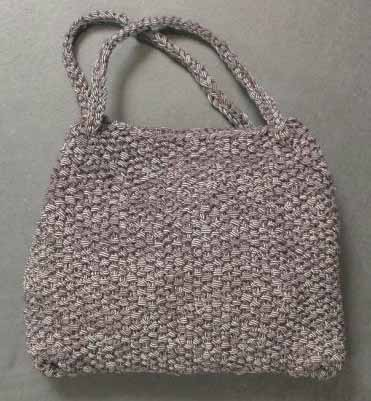 Knitted Handbags Patterns : Knit the Best Fall Bags and Purses - free patterns - Grandmothers ...