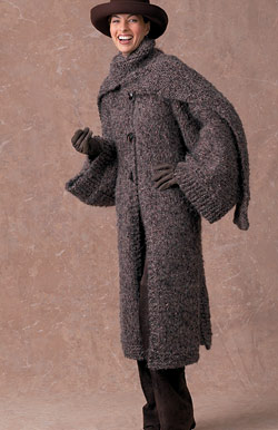 Sweater Coat Knitting Pattern : Getting Ready for Cold Weather   Knit Coats, Long Sweaters, Jackets   free pa...
