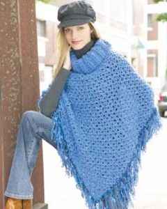 Free Crochet Patterns For Cowl Neck Poncho : Crochet the Prettiest Ponchos for Fall ? free patterns ...