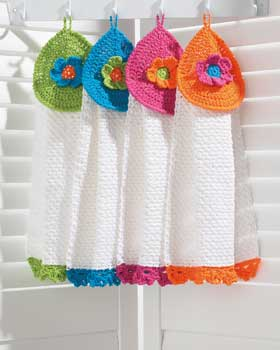 Autumn Kitchen - Knit and Crochet Towel Toppers - free patterns ...