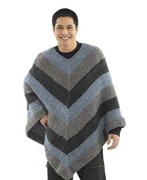 Knitting Pattern For Mens Poncho : Crochet the Prettiest Ponchos for Fall   free patterns   Grandmothers Pa...