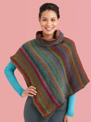 Knit The Prettiest Ponchos For Fall Free Patterns