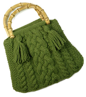 Handbag Knitting Patterns : Knit the Best Fall Bags and Purses   free patterns   Grandmothers Patter...