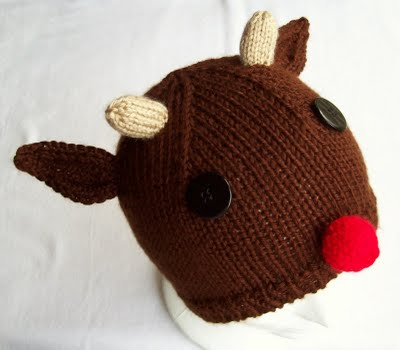Knit A Reindeer Toys Sweaters Caps And More Free Patterns