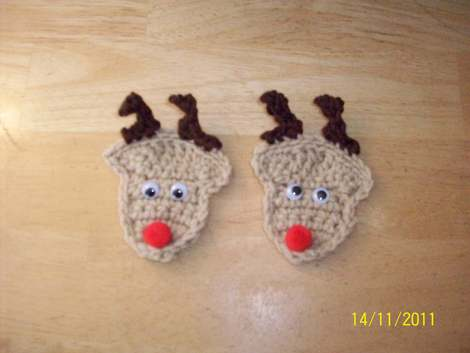 Crochet A Reindeer Toys Hats And More Free Patterns
