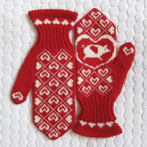 Lovely Knit Colourwork and Fair Isle Mittens – free patterns ...