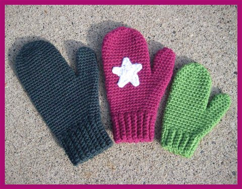 ... Best Crochet Mittens – free patterns – Grandmother's Pattern Book