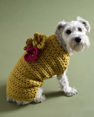 Posts similar to: Bobble Dog Coat - free crochet pattern - Juxtapost