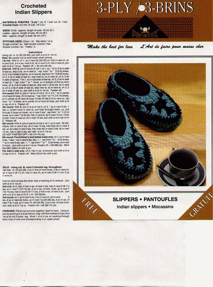 More Slippers To Crochet For Kids Free Patterns