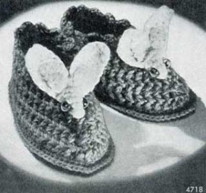 Free Crochet Patterns Bunny Slippers : More Slippers to Crochet for Kids ? 13 free patterns ...