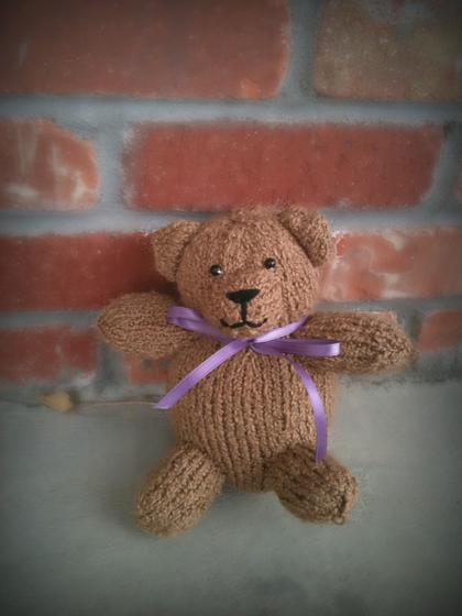 Knit A Bear 11 Free Patterns Grandmothers Pattern Book